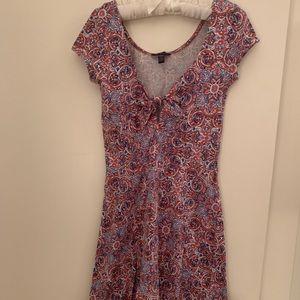 Aeropostale Flowered Dress XS